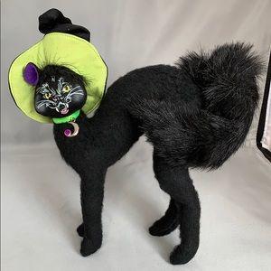 Annalee Large Black Cat